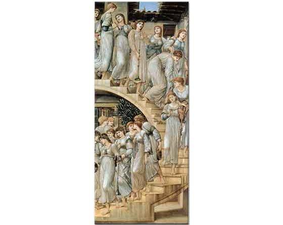 Edward Burne Jones Altın merdivenler