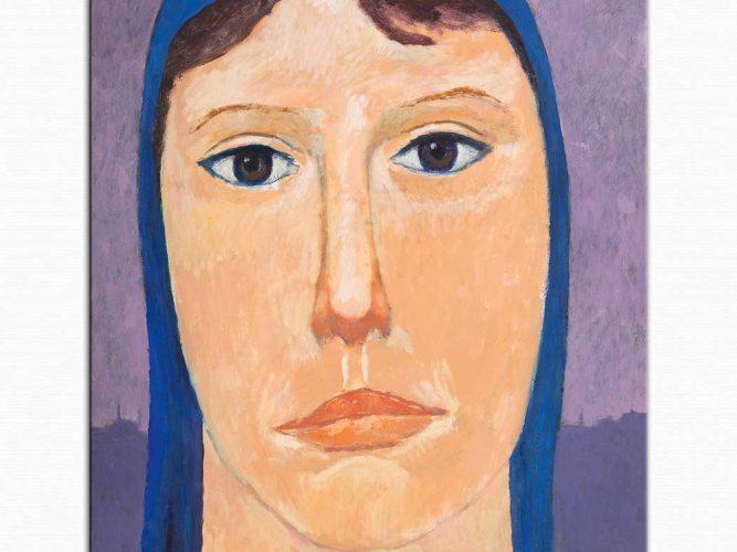 Nuri Iyem Köylü Kadın Portresi
