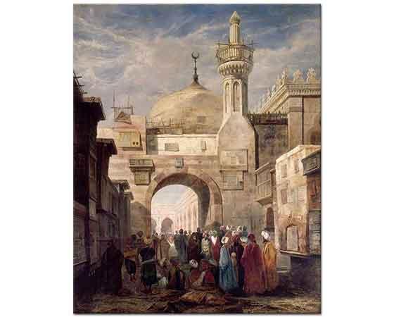 Adrien Dauzats El Ezher Cami Kahire