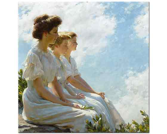 Charles Courtney Curran Tepelerde