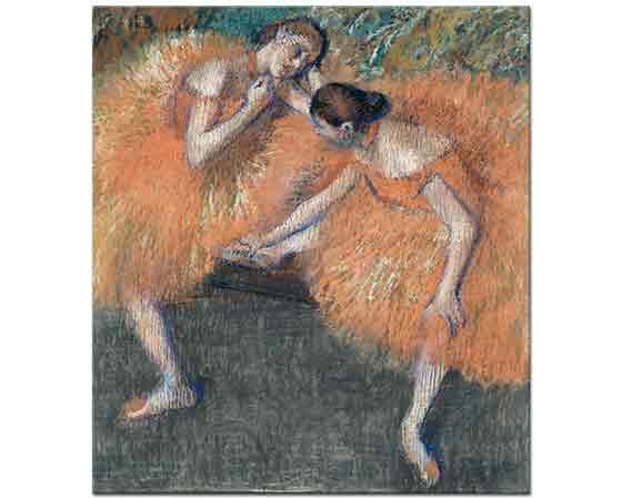 Edgar Degas iki dansçı