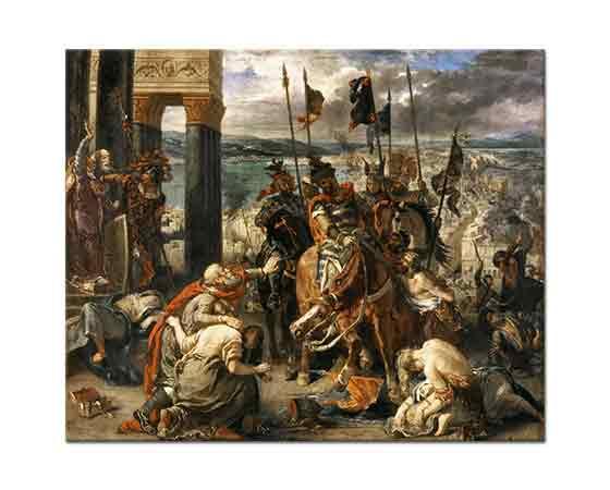 Eugene Delacroix Şövalyelerin Konstantinapolis'e Girişleri