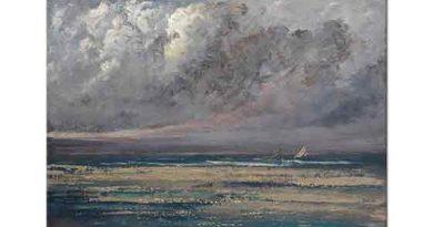 Gustave Courbet Normandiya Kıyıları Trouville