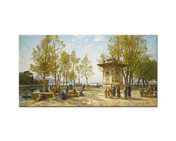 Hermann David Salomon Corrodi istanbul manzarası