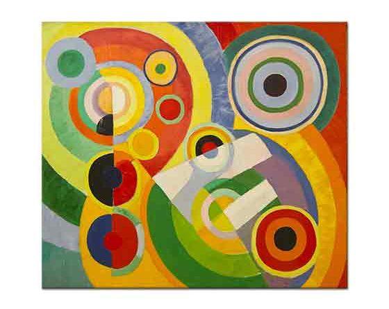Robert Delaunay ritm yaşam sevinci