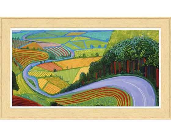 David Hockney hayatı ve eserleri