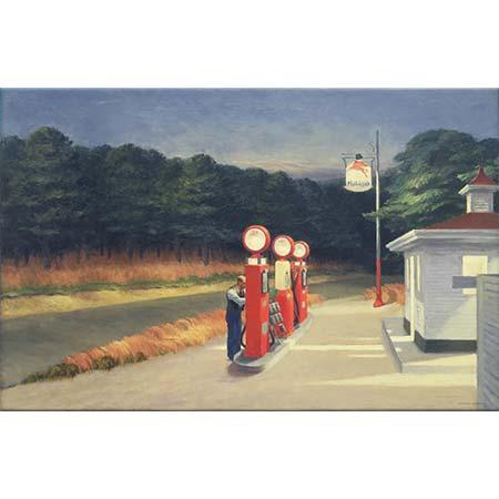 Edward Hopper Petrol İstasyonu