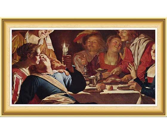 Gerard van Honthorst Hayatı ve Eserleri