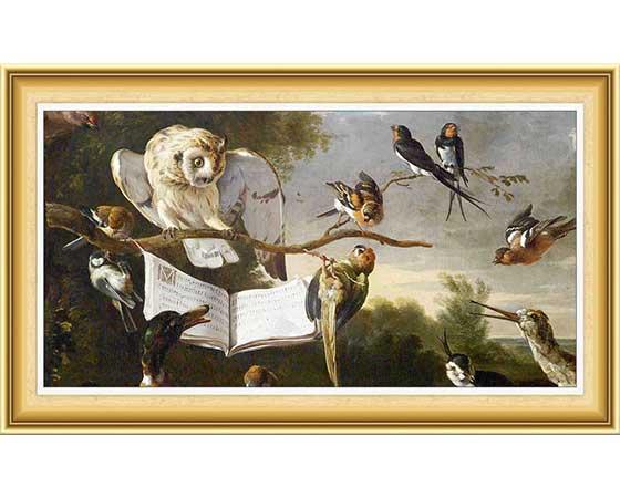 Melchior de Hondecoeter Hayatı ve Eserleri