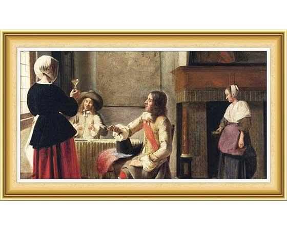 Pieter de Hooch Hayatı ve Eserleri