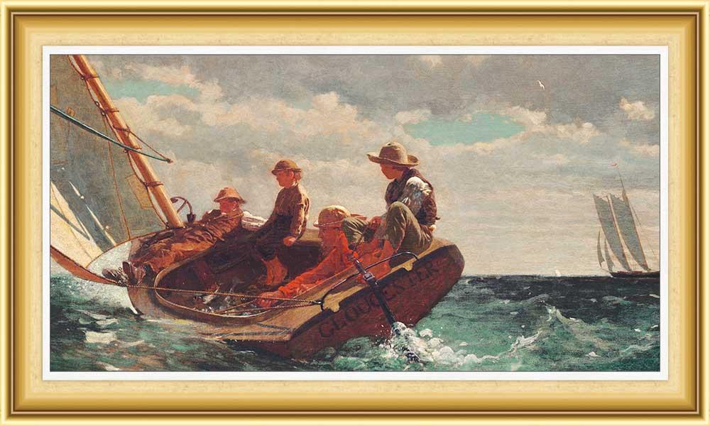Winslow Homer hayatı ve eserleri