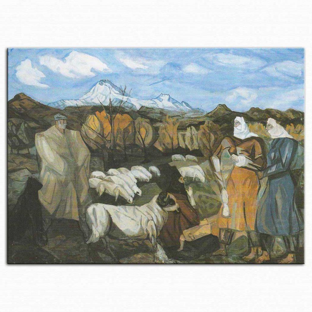 Cemal Tollu Çoban ve Kadınlar