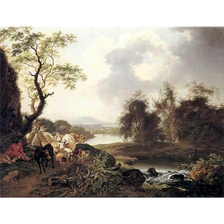 Ferdinand Kobell Nehir Manzarası