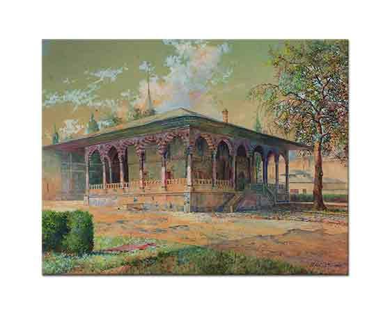 Hüseyin Rıfat Çeteci Topkapı Sarayı Arz Odası