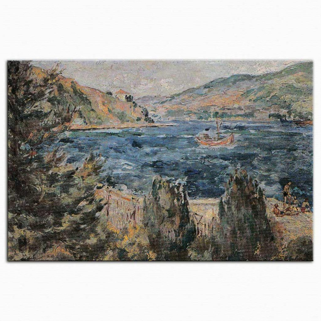 Sabiha Rüştü Bozcalı Deniz Manzarası