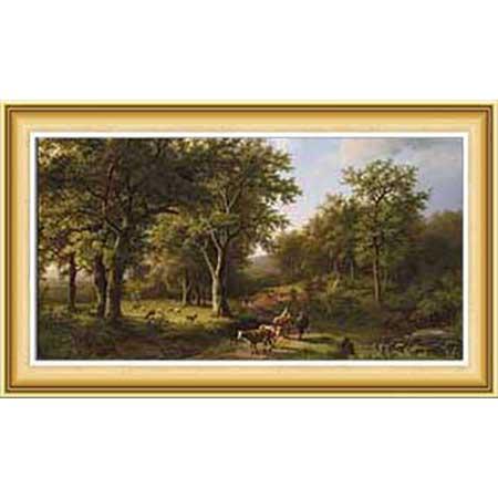 Barend Cornelis Koekkoek Hayatı ve Eserleri