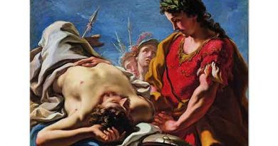 Giovanni Antonio Pellegrini İskender Darius'un Cenazesi Başında