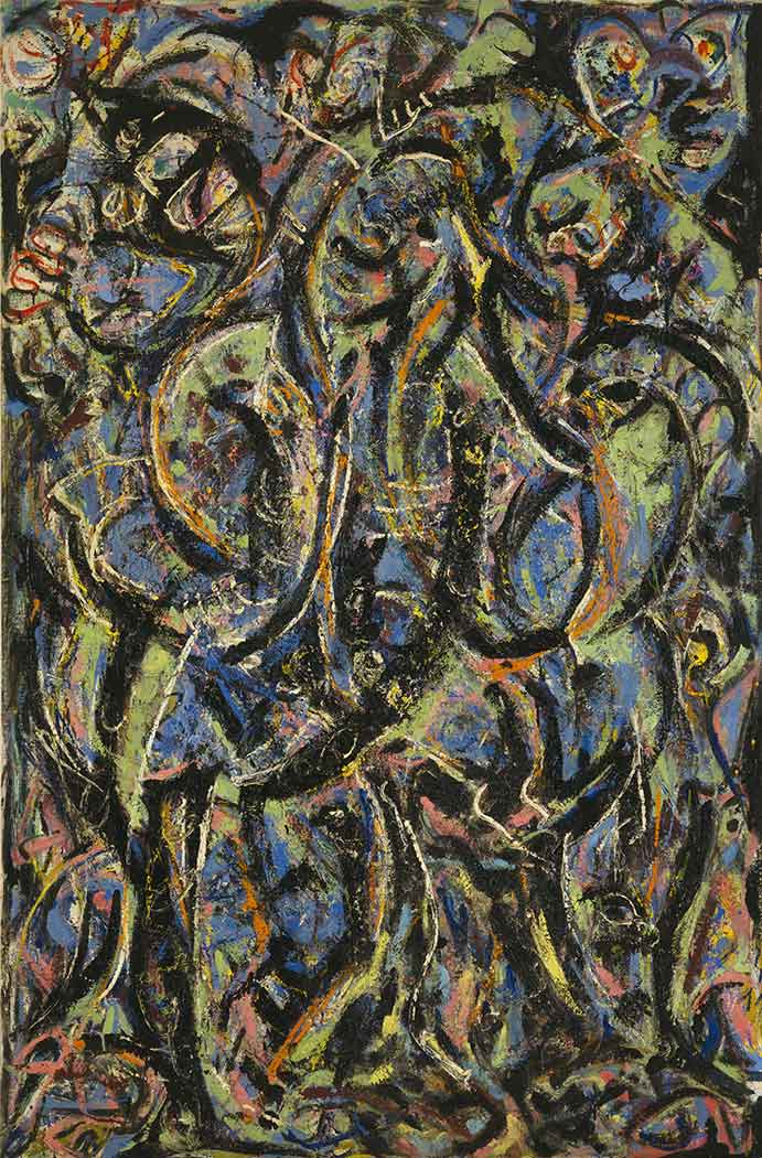Jackson Pollock Gotik
