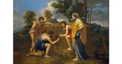 Nicolas Poussin Arkadya'lı Çobanlar