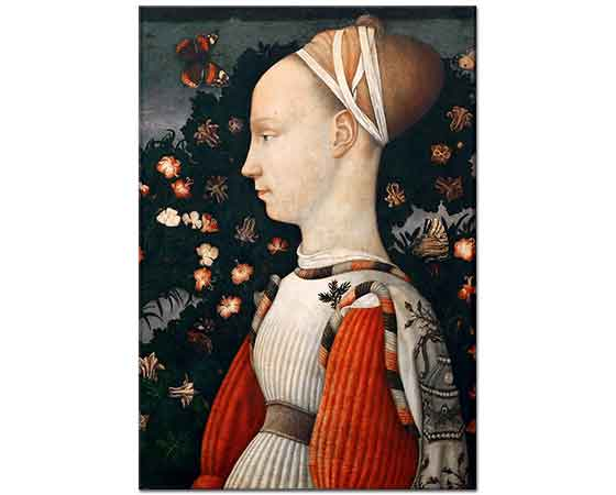 Pisanello Bir Prensesin Portresi