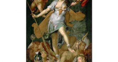 Bartholomeus Spranger Minerva'nın Cehaleti Yenişi