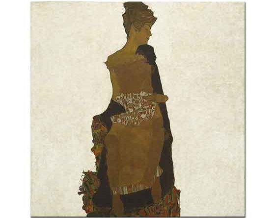 Egon Schiele Gerti Schiele'nin Portresi