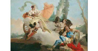 Giovanni Battista Tiepolo Armida'dan Büyülenen Rinaldo