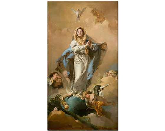 Giovanni Battista Tiepolo Saf Düşünce