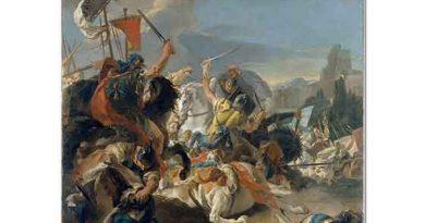 Giovanni Battista Tiepolo Vercellae Savaşı