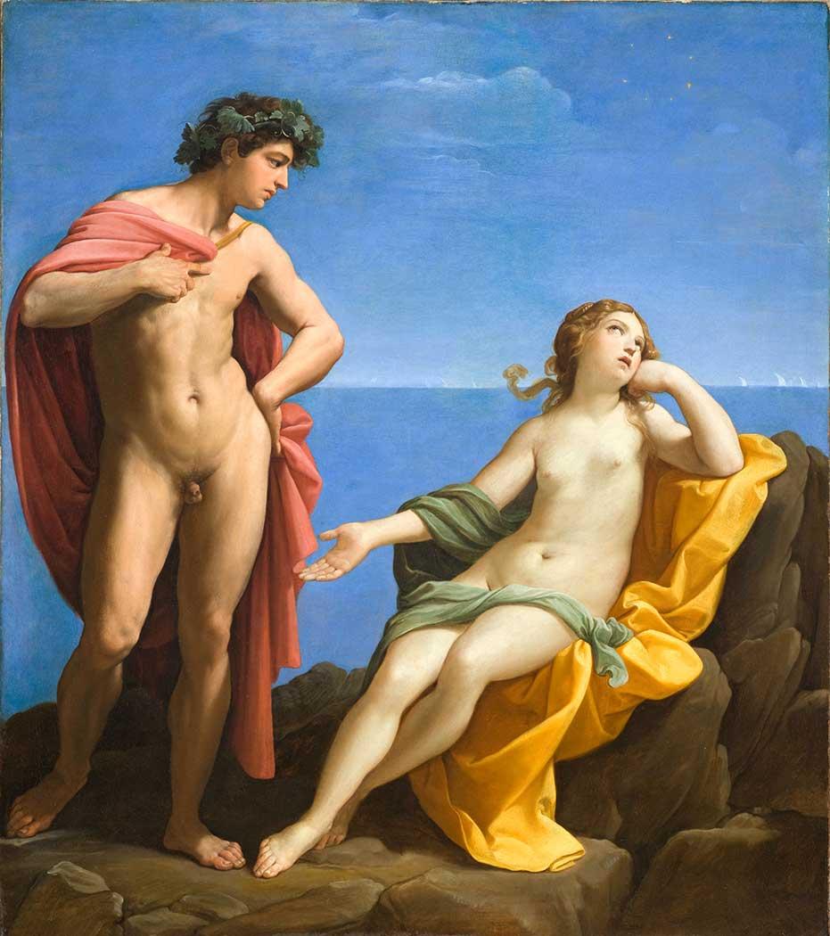 Guido Reni Baküs ve Ariadne
