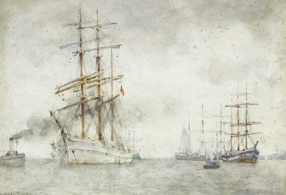 Henry Scott Tuke Norveç Yelkenlisi
