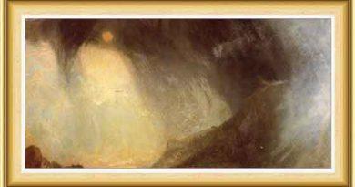 Joseph Mallord William Turner hayatı ve eserleri