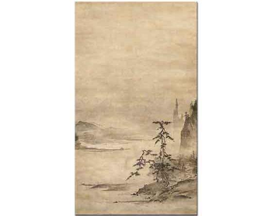 Tensho Shubun Nehir Manzarası