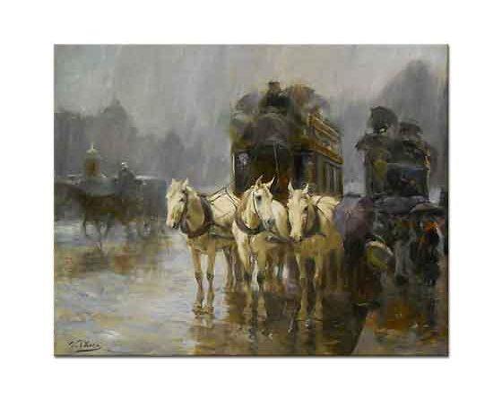 Ulpiano Checa Sanz Yağmurlu Gün Paris