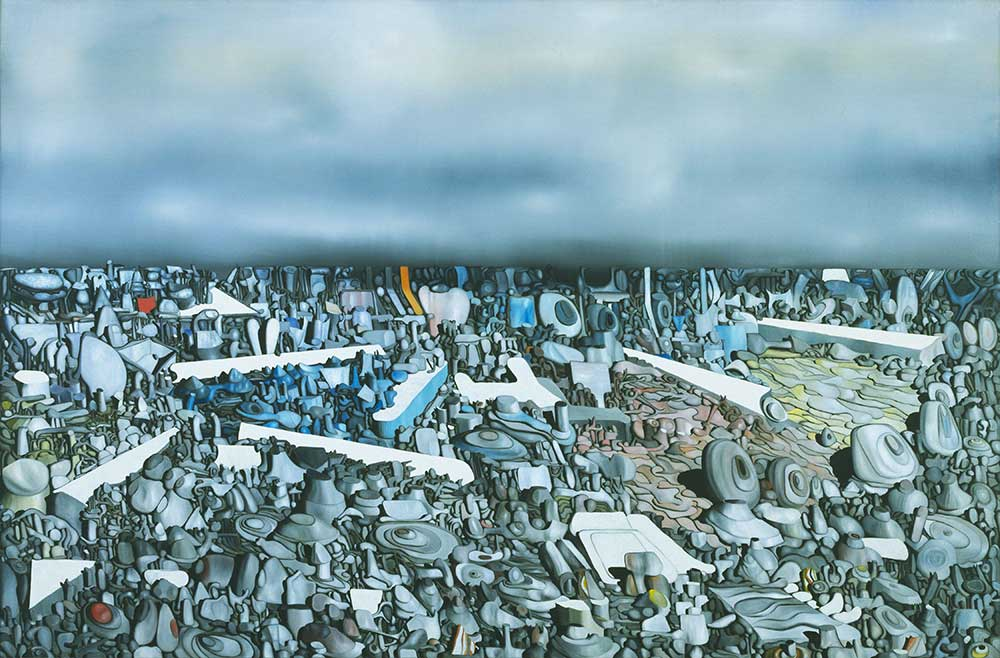 Yves Tanguy Kemerlerin Katlanışı