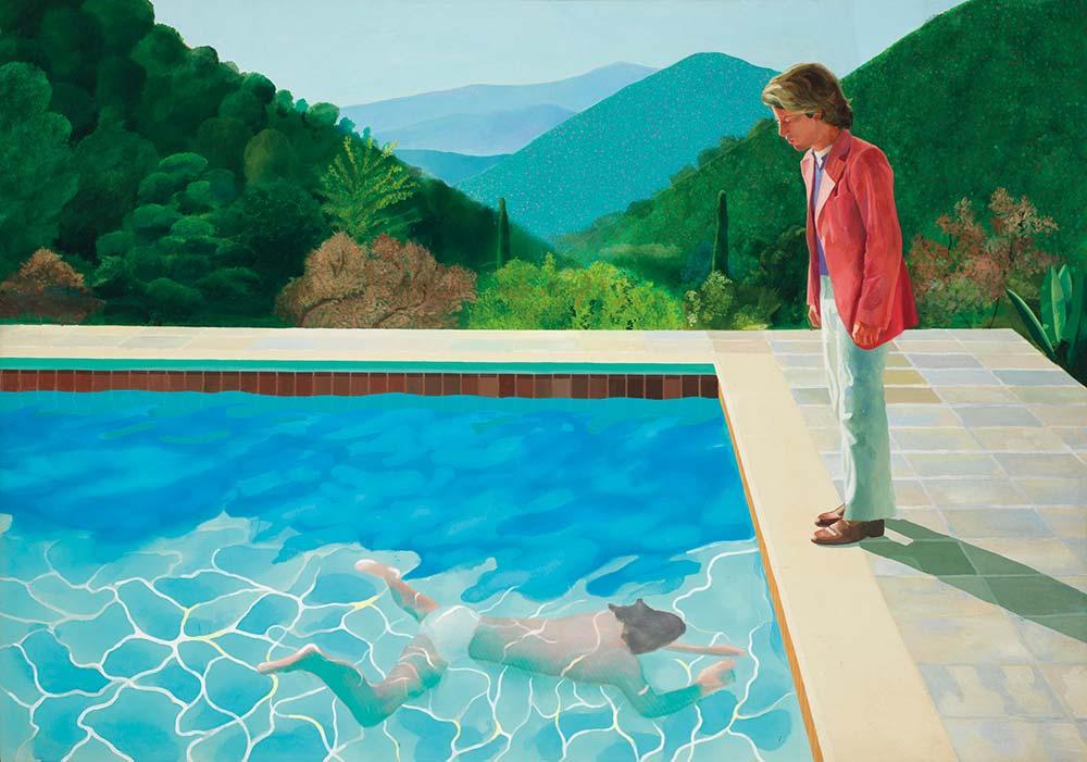 David Hockney Sanatçının Portresi