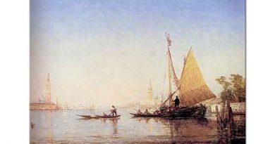 Felix Ziem Venedik Manzarası