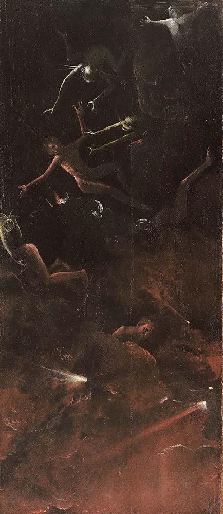 Hieronymus Bosch Ahiret Vizyonları Cehennem 03