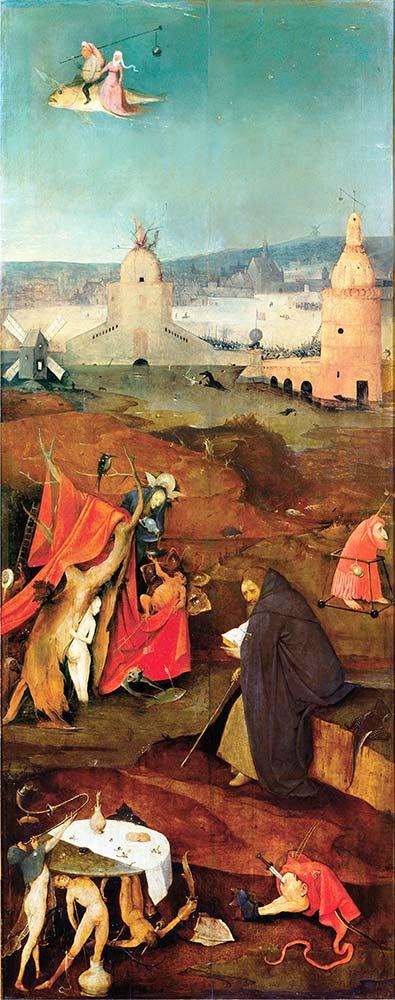 Hieronymus Bosch Aziz Anthony'nin Günaha Teşviki Sağ Kanat