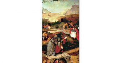 Hieronymus Bosch Aziz Anthony'nin Günaha Teşviki Sol Kanat