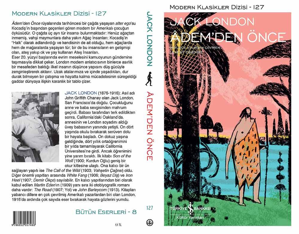Jack London Adem'den Önce Kitabı