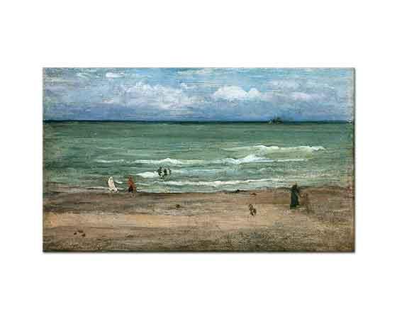 James Abbott McNeill Whistler Pourville Sahili
