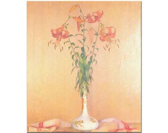 Mahmut Cuda Vazoda Çiçekler