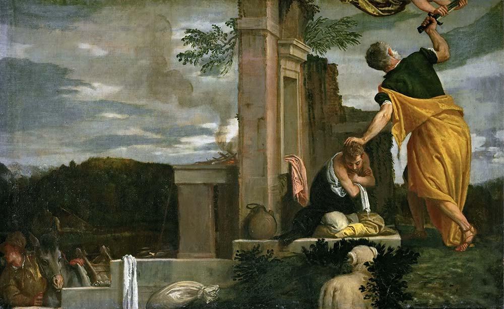 Paolo Veronese İbrahim İshak'ı Kurban Ederken