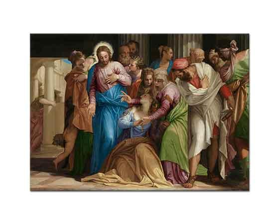 Paolo Veronese Mary Magdalene'nin Tövbesi