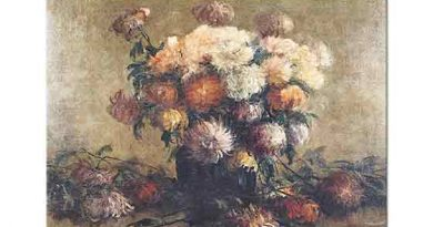 Selami Barutçu Vazoda Çiçekler
