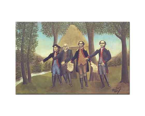 Andre Bauchant Amerika'nın Bağımsızlık İlanı