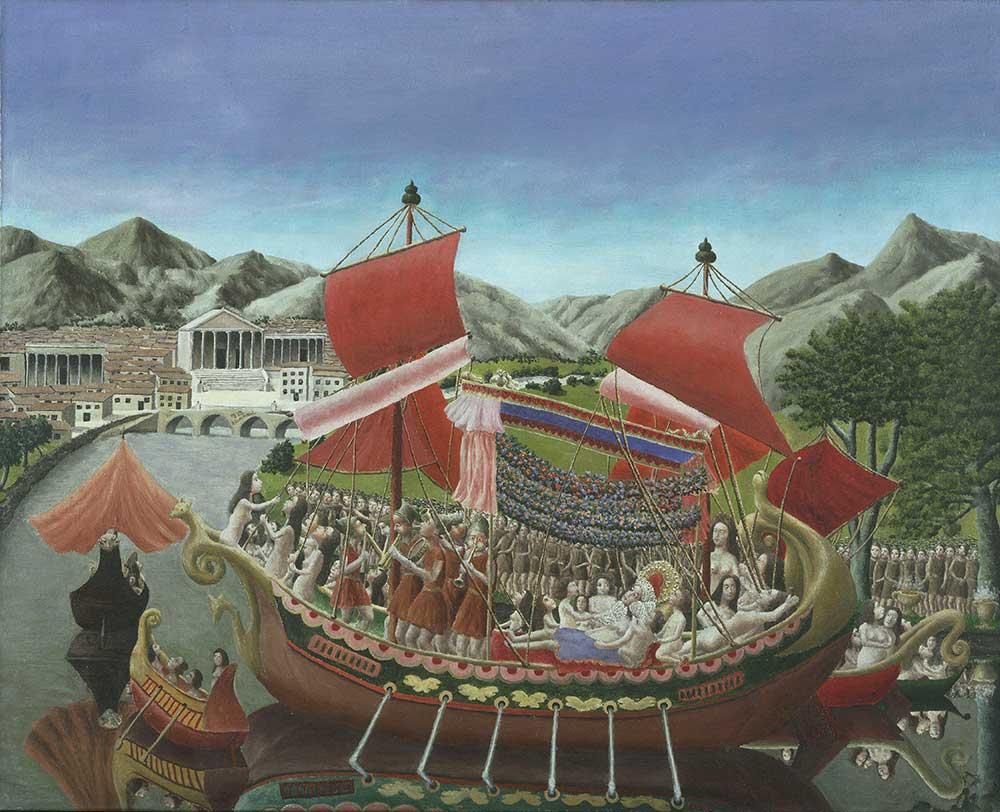 Andre Bauchant Kleopatra'nın Teknesi