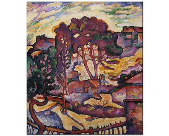 Georges Braque Büyük Ağaçlar
