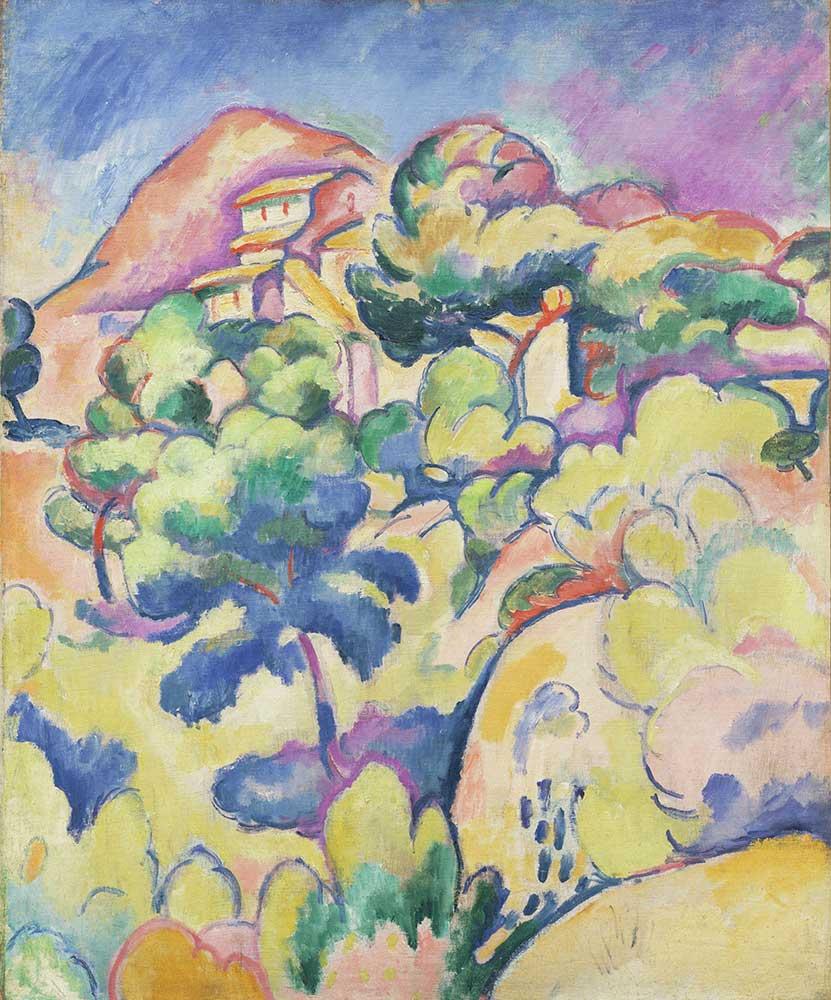 Georges Braque La Ciotat Manzarası